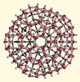 bioélectronique eau cluster
