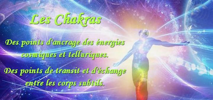 chakras points énergétiques