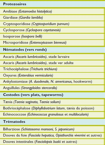 frequencetherapie classification parasites