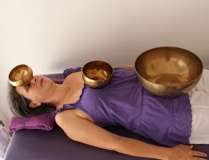 energescence sonotherapie séance bol allongé